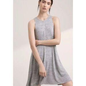 Anthropologie Wilfred Free Rosa Tank Dress Gray